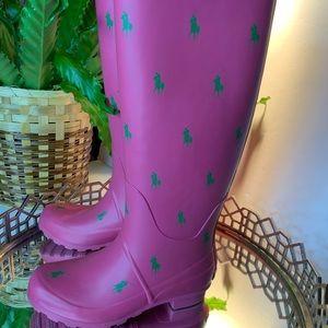 Polo Boots Rain Tall